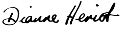 Signature of Dr Dianne Heriot