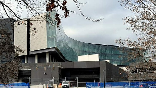Figure 5: ASIO's new Central Office building nears completion