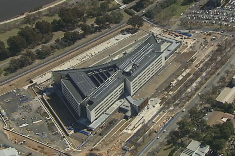 Figure 6: ASIO's new Central Office from the air