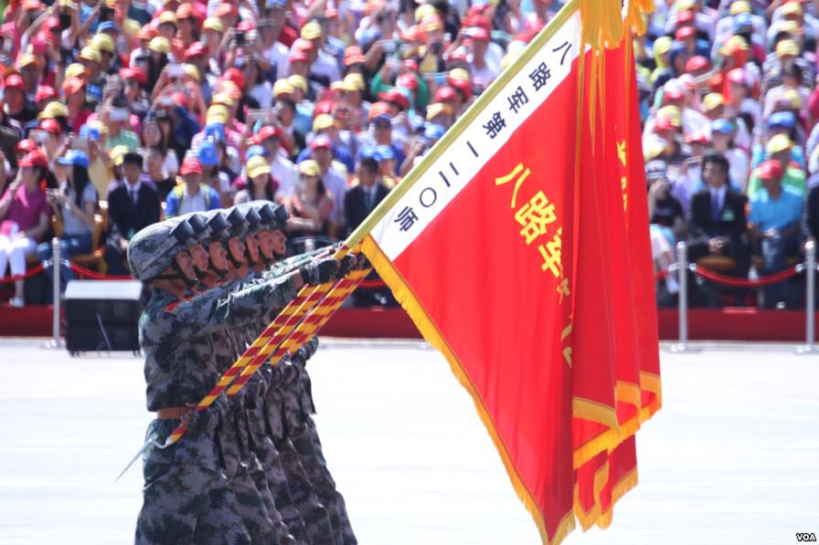 The Hero Squads at the 2015 China Victory Day parade.
