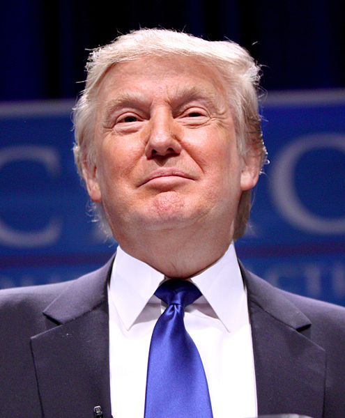 Donald Trump. Image courtesy of Wikimedia Commons.