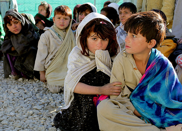 Khost children in 2010