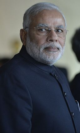 Narendra Modi at the 6th BRICS summit 2014