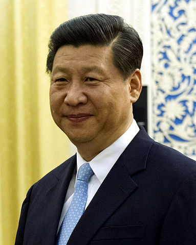 Chinese Vice President Xi Jinping prior to a meeting in Beijing China, Sept. 19, 2012