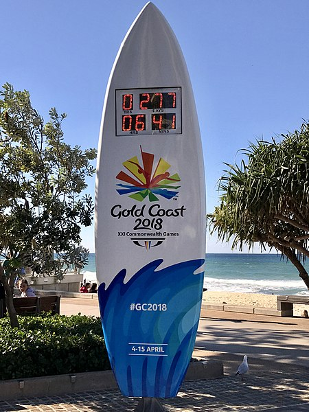 Countdown to the 2018 Commonwealth Games