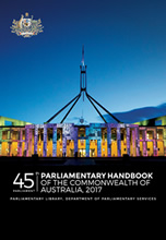 45th Parliament Handbook Cover