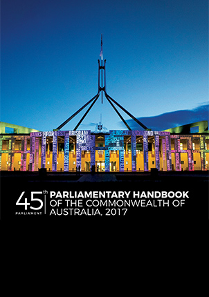 45th Parliamentary Handbook cover