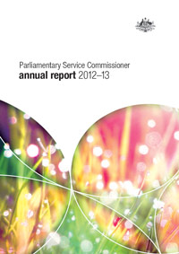 Parliamentary Service Commissioner Annual Report 2012-2013