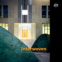 Interwoven cover