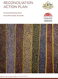 Image of cover of Reconciliation Action Plan