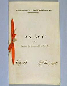 The Commonwealth of Australia Constitution Act