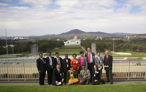 Inter Parliamentary Study Program participants at Parliament House