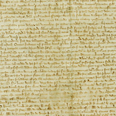 Inspeximus issue of Magna Carta (detail)