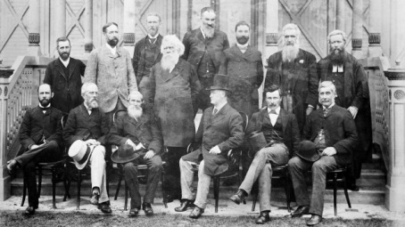 The Australasian Federation Conference delegates