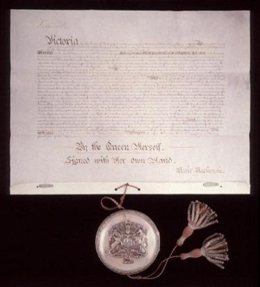 Royal Assent of Queen Victoria to Commonwealth of Australia Constitution Act of 1900