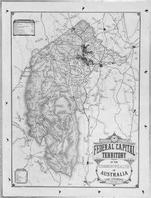 A 1933 map of the Federal Capital Territory