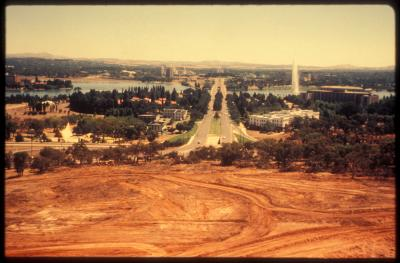 Commonwealth Avenue from Capital Hill, 1981