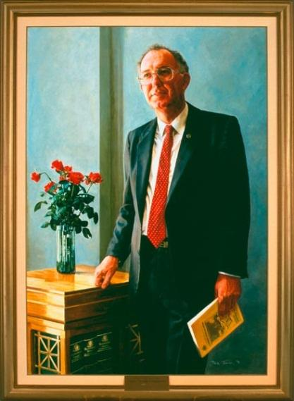The Hon. Leo Boyce McLeay , 1991 by David Thomas (1951‒)