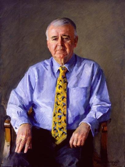 The Hon. Sir William Patrick Deane, AC KBE, 2001 by Robert Hannaford (1944‒)