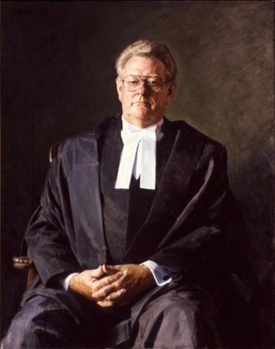 The Hon. Robert (Bob) George Halverson, 1998 by Robert Hannaford (1944‒)