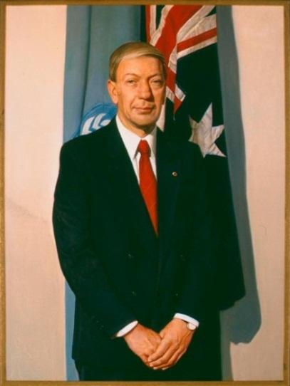 The Hon. Kerry Walter Sibraa , 1991 by Bryan Westwood (1930‒2000)