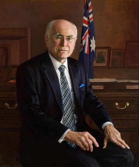 The Hon. John W Howard AC, 2009 by Jiawei Shen (1948‒)