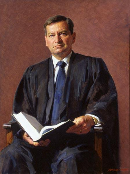 The Hon. John Neil Andrew, 2002 by Robert Hannaford (1944‒)