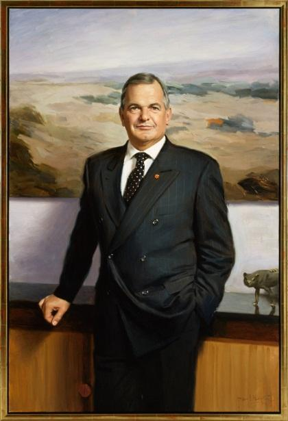 The Hon. Paul Henry Calvert , 2003‒04 by Paul Newton (1961‒)