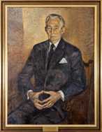 The Hon. James Francis Cope, 1973 by Judy Cassab