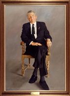 The Hon. Dr Henry Alfred Jenkins, 1985 by Wesley Walters (1928–2014)
