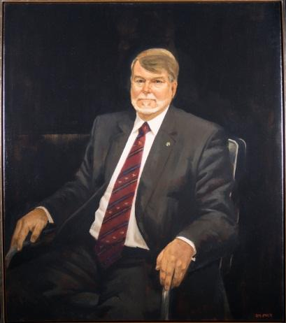 Mr Harry Jenkins, Speaker of the House of Representatives, 2010 by Rick Amor (1948)