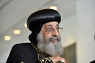 Coptic Orthodox Pope Tawadros II at Parliament House