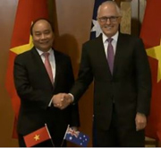 Prime Minister of Vietnam Nguyen Xuan Phuc and Malcolm Turnbull
