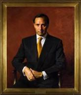 The Hon. Paul J Keating , 1997 by Robert Hannaford (1944‒)