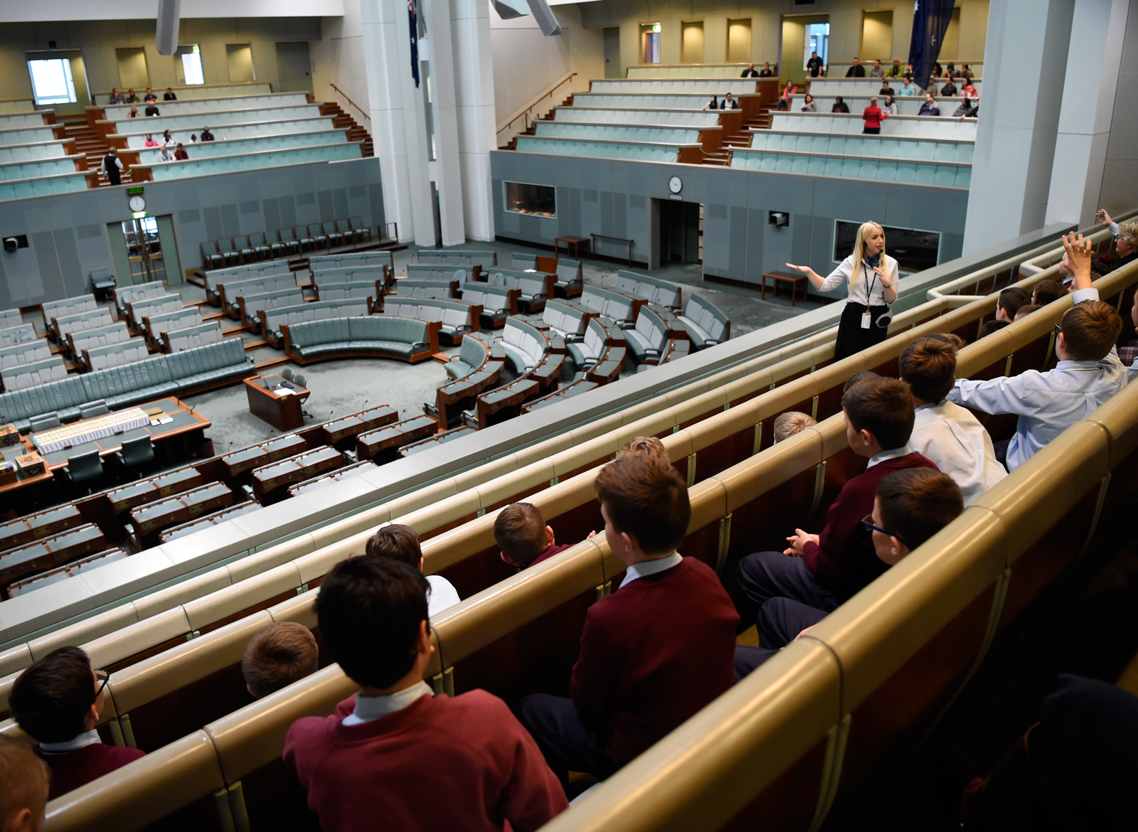 School tours of Parliament House – Parliament of Australia