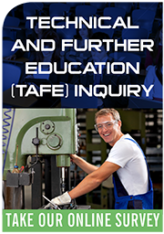 TAFE Inquiry web graphic