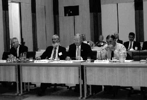 The International Association of Former Child Migrants and Their Families gives evidence at the Canberra hearing